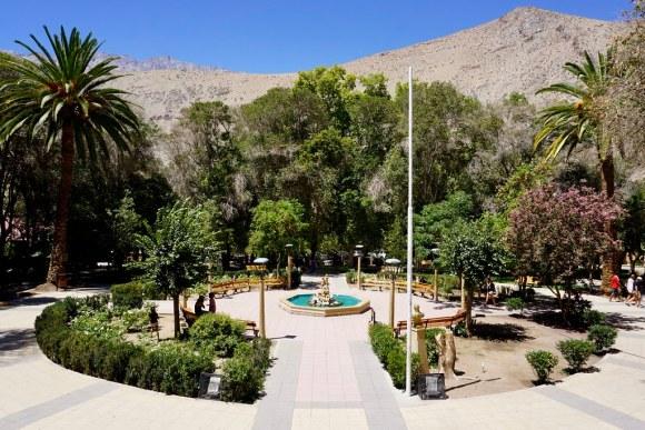 Plaza de Pisco Elqui