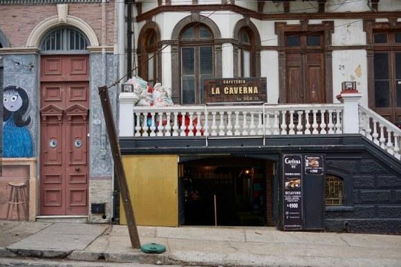 Café La Caverna, Playa Ancha