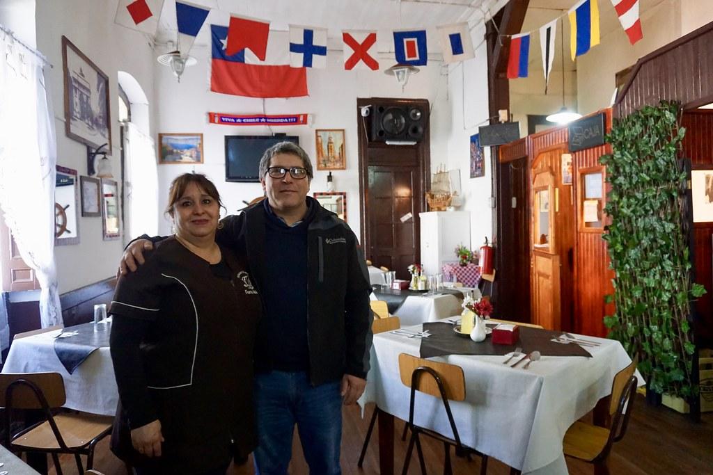 Evelyn Parada y Jaime Tejo de Puerto Mil-Nay