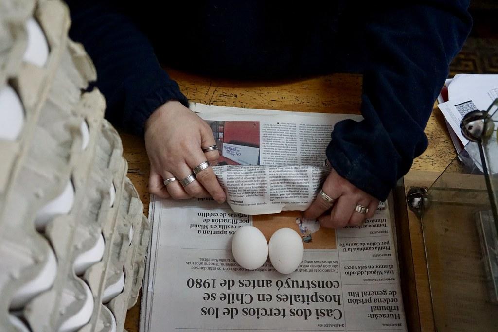 Huevos en Papajo