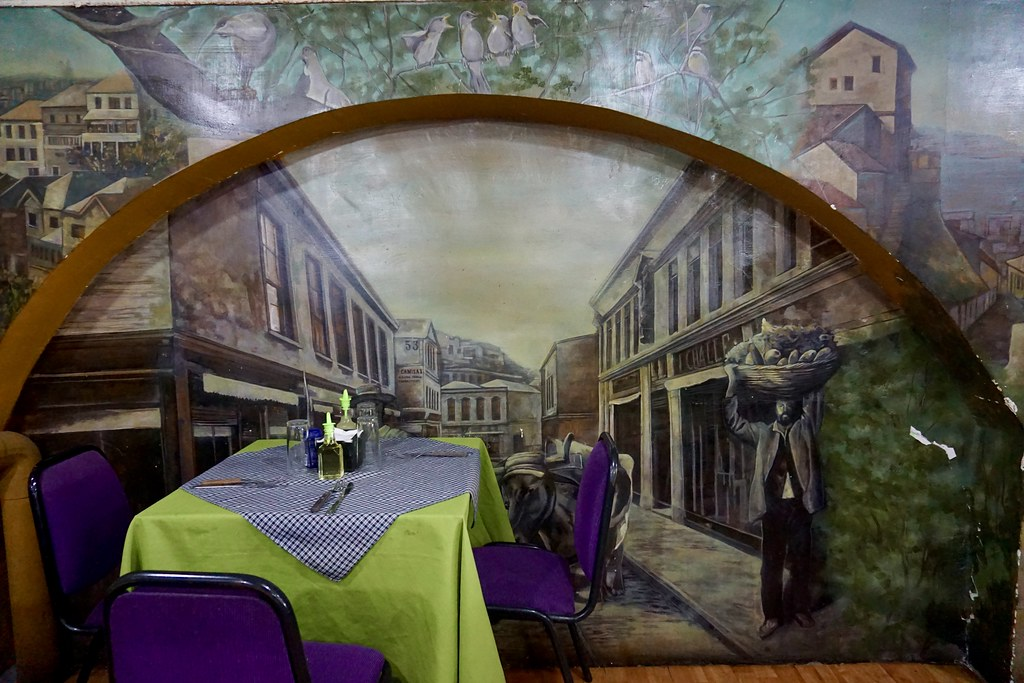 Mural Restaurant El Mercado