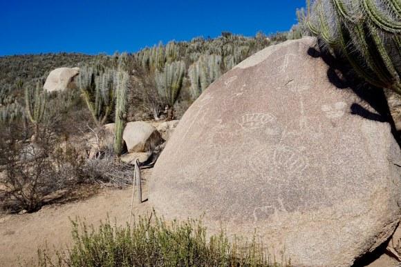 Petroglifos en Valle del Encanto
