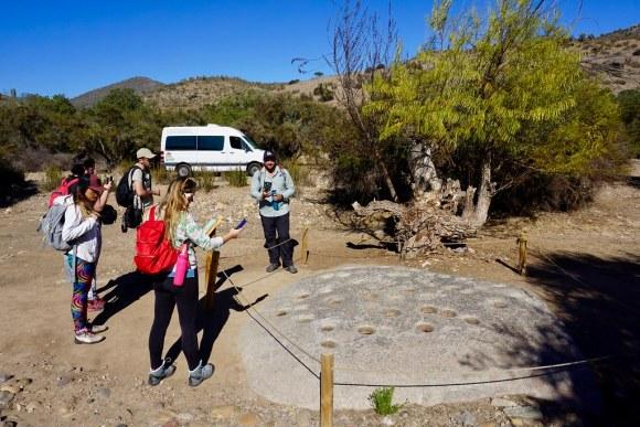 Junto a Ecoturismo La Serena en Valle del Encanto