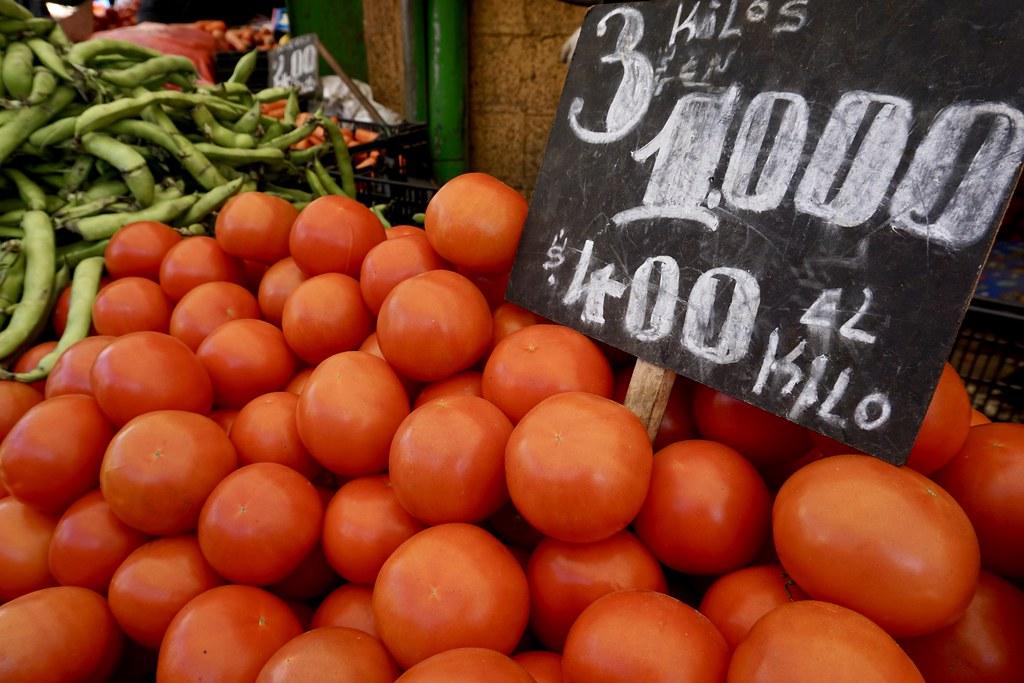 Tomates, Mercado Cardonal