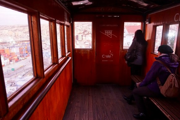 Interior ascensor Artillería