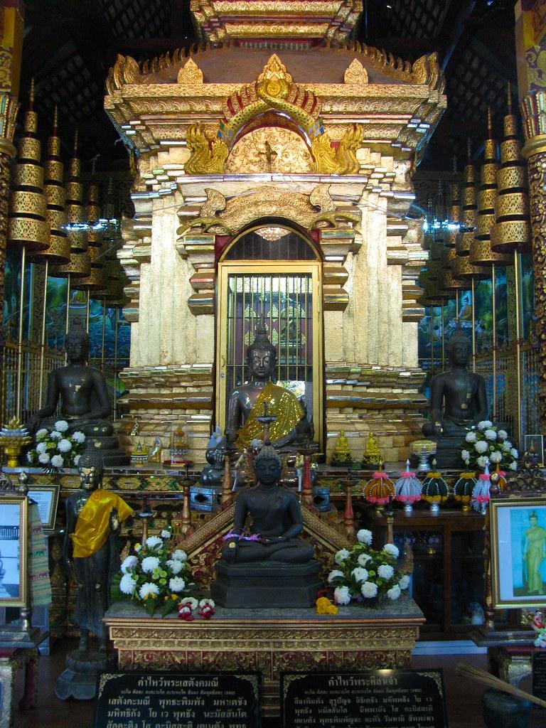 Buda en Wat Chiang Man