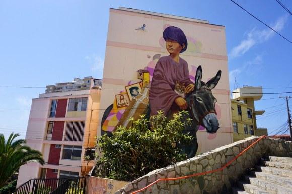 A La Pinta para Valparaíso en Colores en Cerro Lecheros