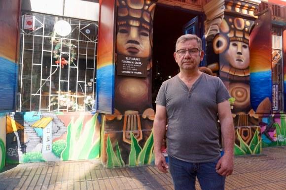 Claudio Lineros, Taberna de Oscar