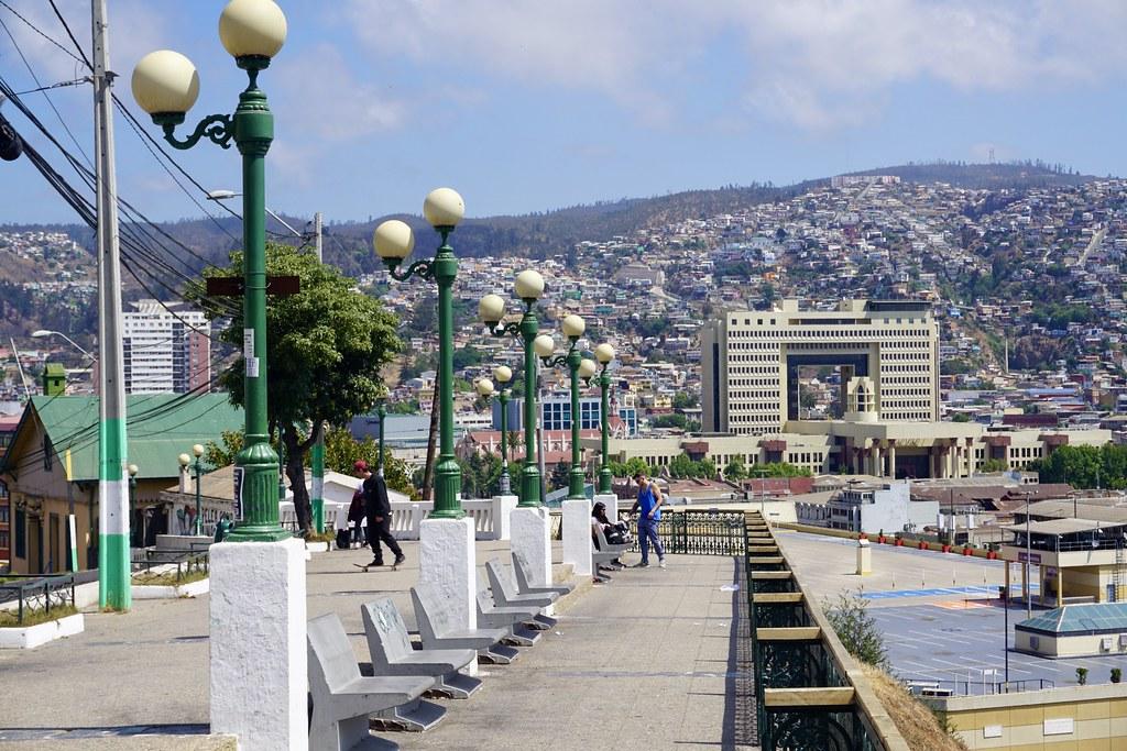 Mirador Portales, cerro Barón
