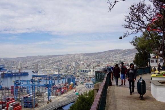 Paseo 21 de Mayo, cerro Artillería