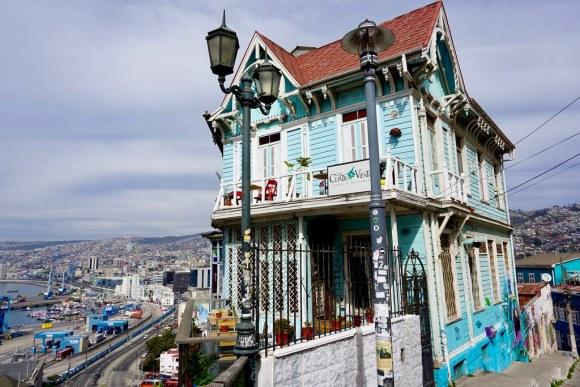Casa de los 4 Vientos. Cerro Artillería, Valparaíso