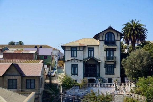 Casa construida para Luis Alberto González, alcalde de Valparaíso