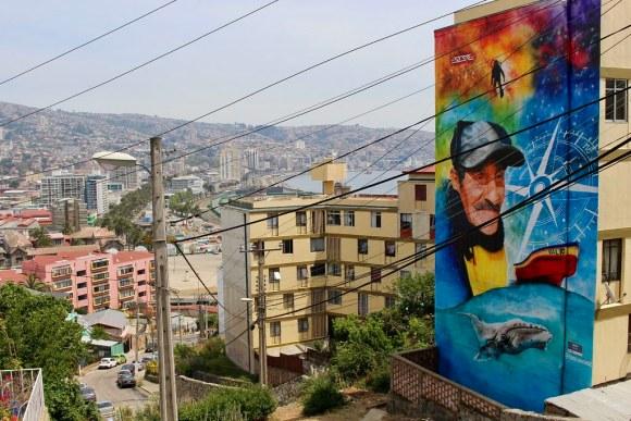 Valparaíso en Colores, cerro Lecheros