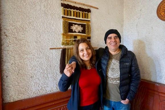 Carolina Codoceo y Víctor Contreras