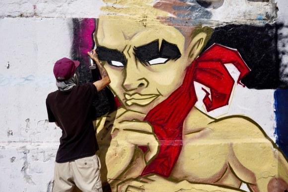 Dread One en Primer Encuentro de Muralismo Torpederas de mi Ensueño