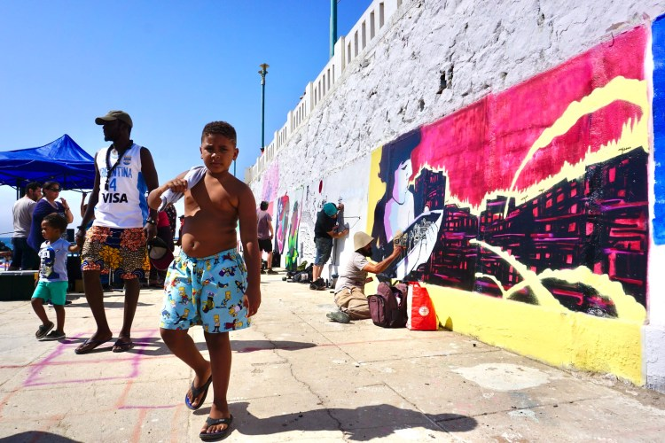 El Street Art llegó a Las Torpederas de Valparaíso