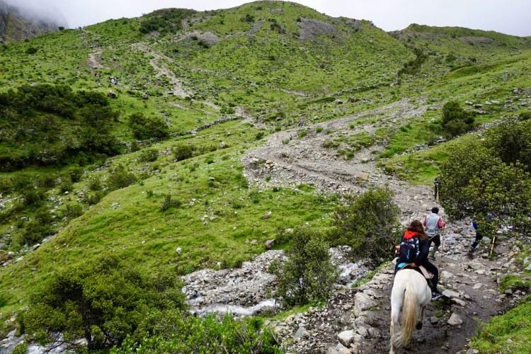Subiendo por la Sierra Peruana