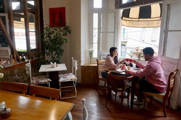 Café Entre Cerros, cerro Alegre. Valparaíso