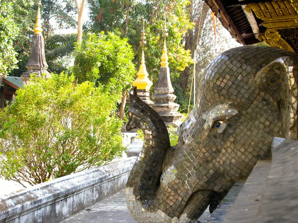 Elefante de mosaico