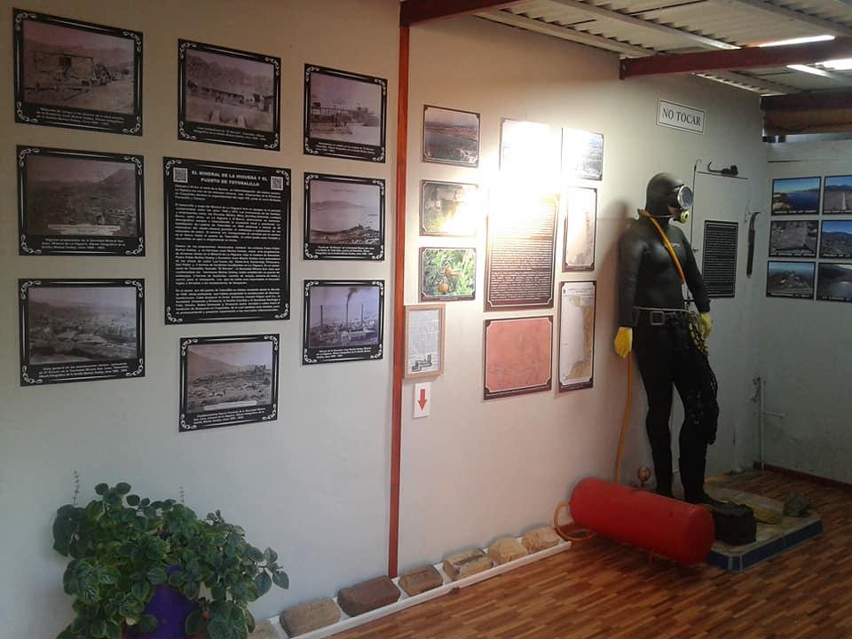 Sala de Exhibición en Restaurante Brisa Marina
