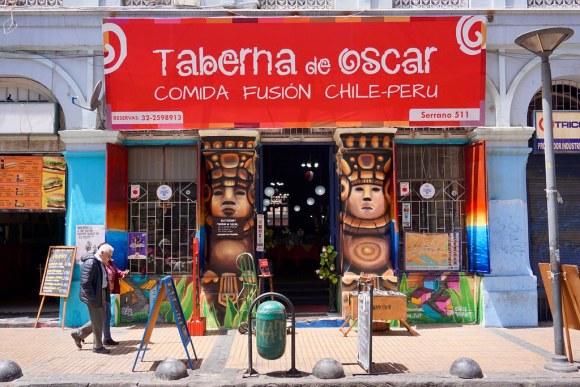 Taberna de Oscar, Barrio Puerto