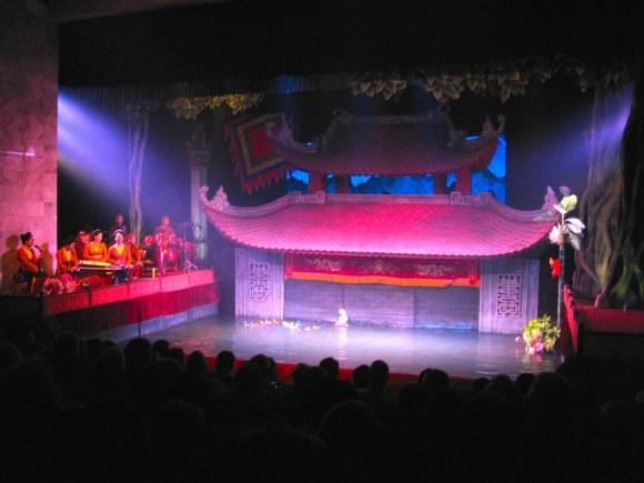 Teatro Municipal de Marionetas en el Agua
