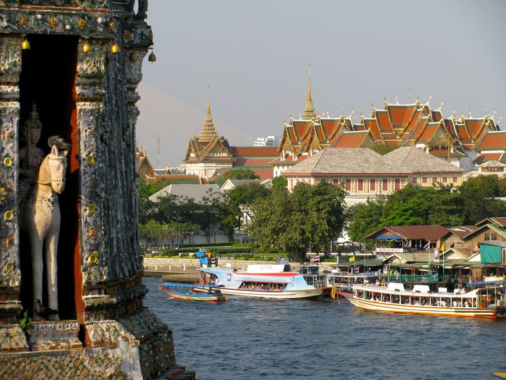 Wat Arun y Gran Palacio