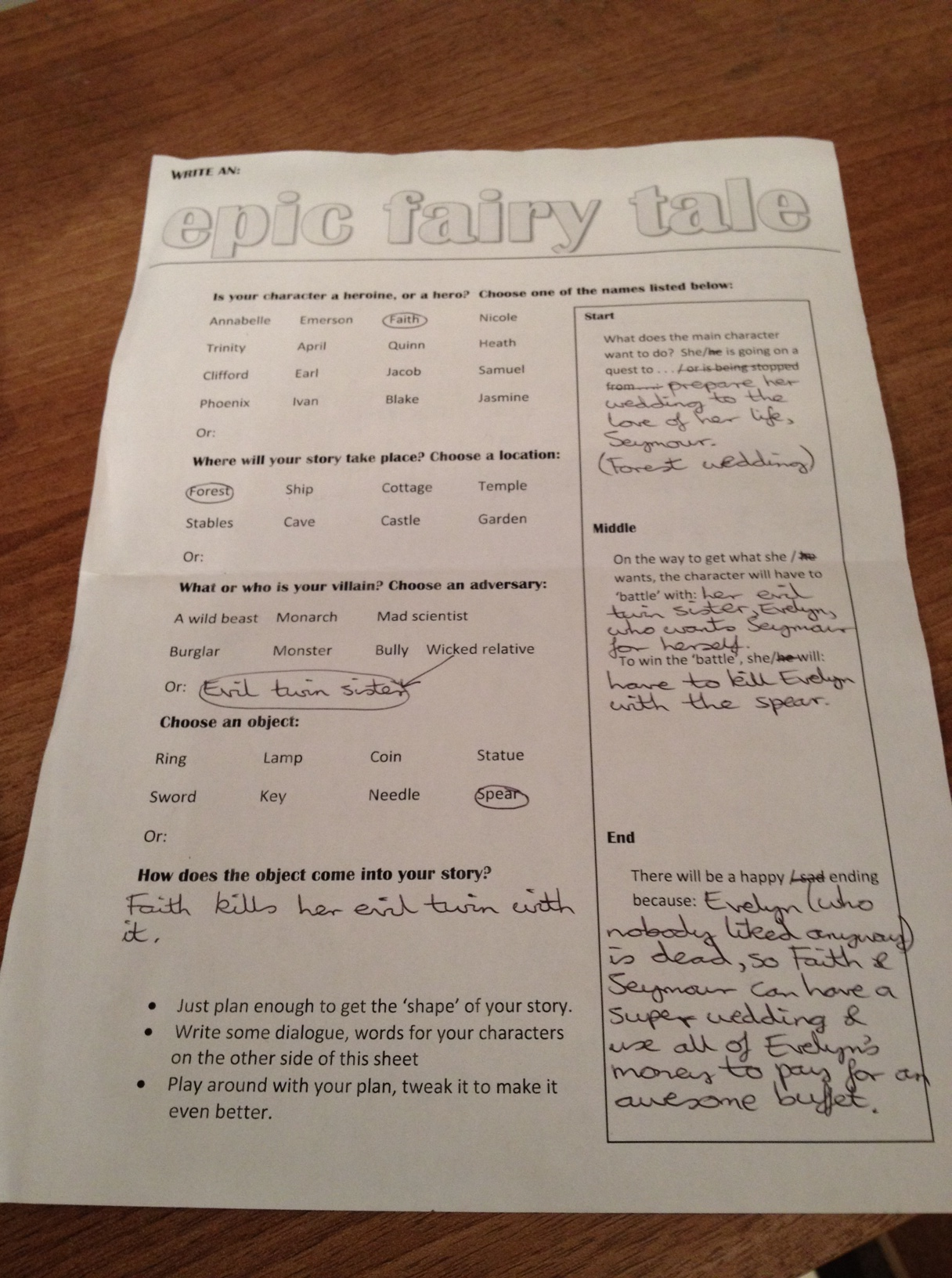 Epic Fairy Tales Writing Workshop A Puppeteer S Journey
