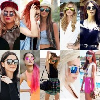 Gafas reflectivas mirrored sunglasses - The Glambition