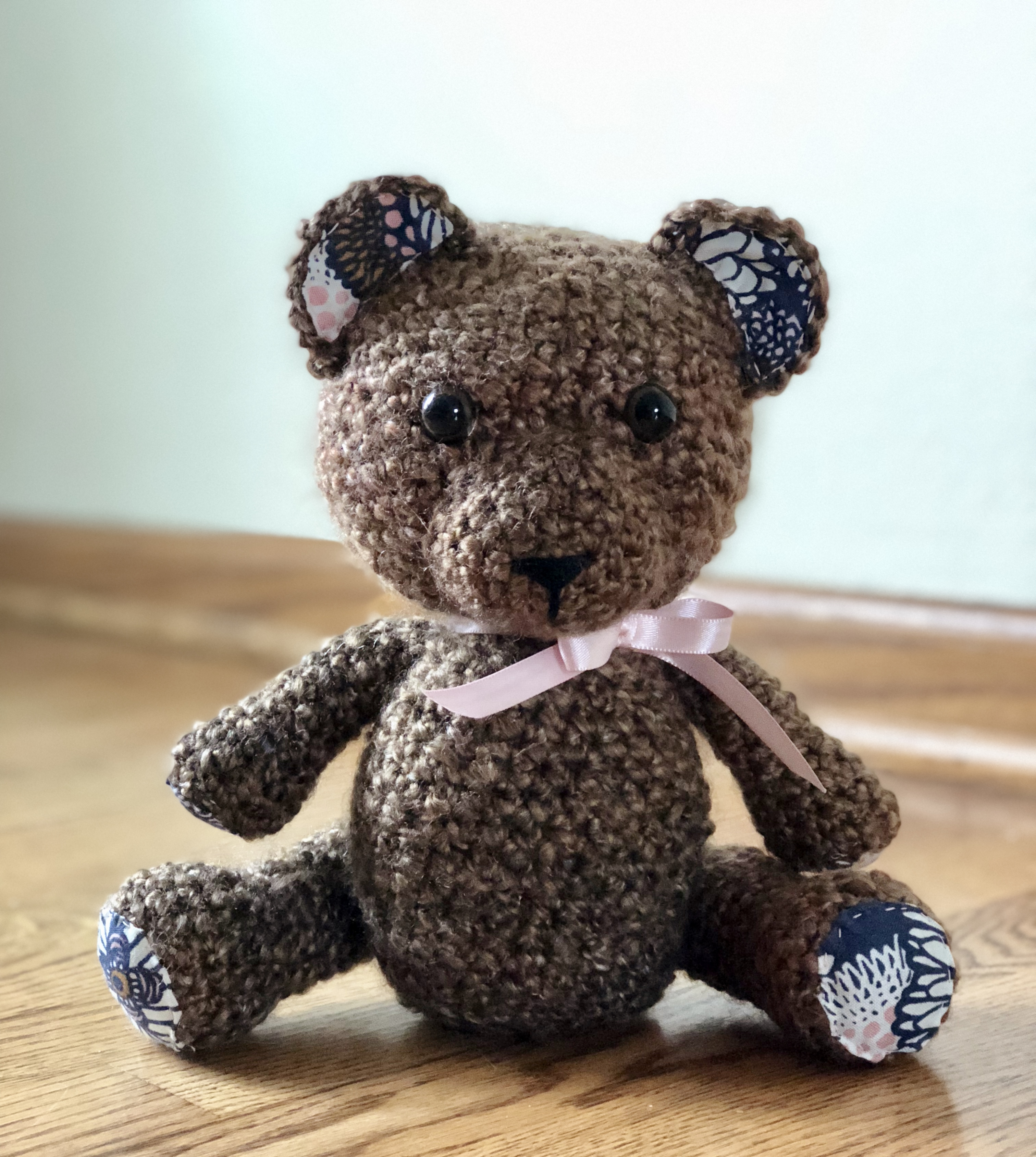 Classic Teddy- Free Pattern