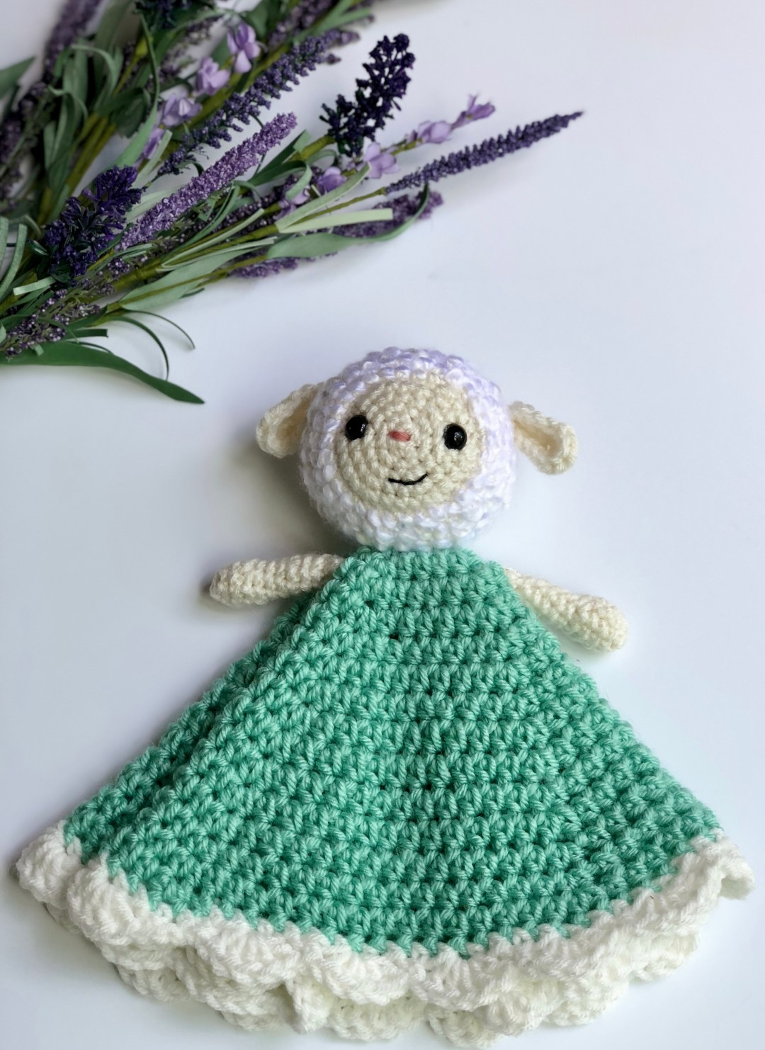Lambie The Lovey Free Pattern A Purpose And A Stitch