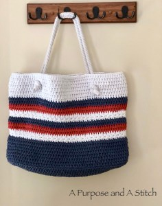 Star Spangled Beach Tote