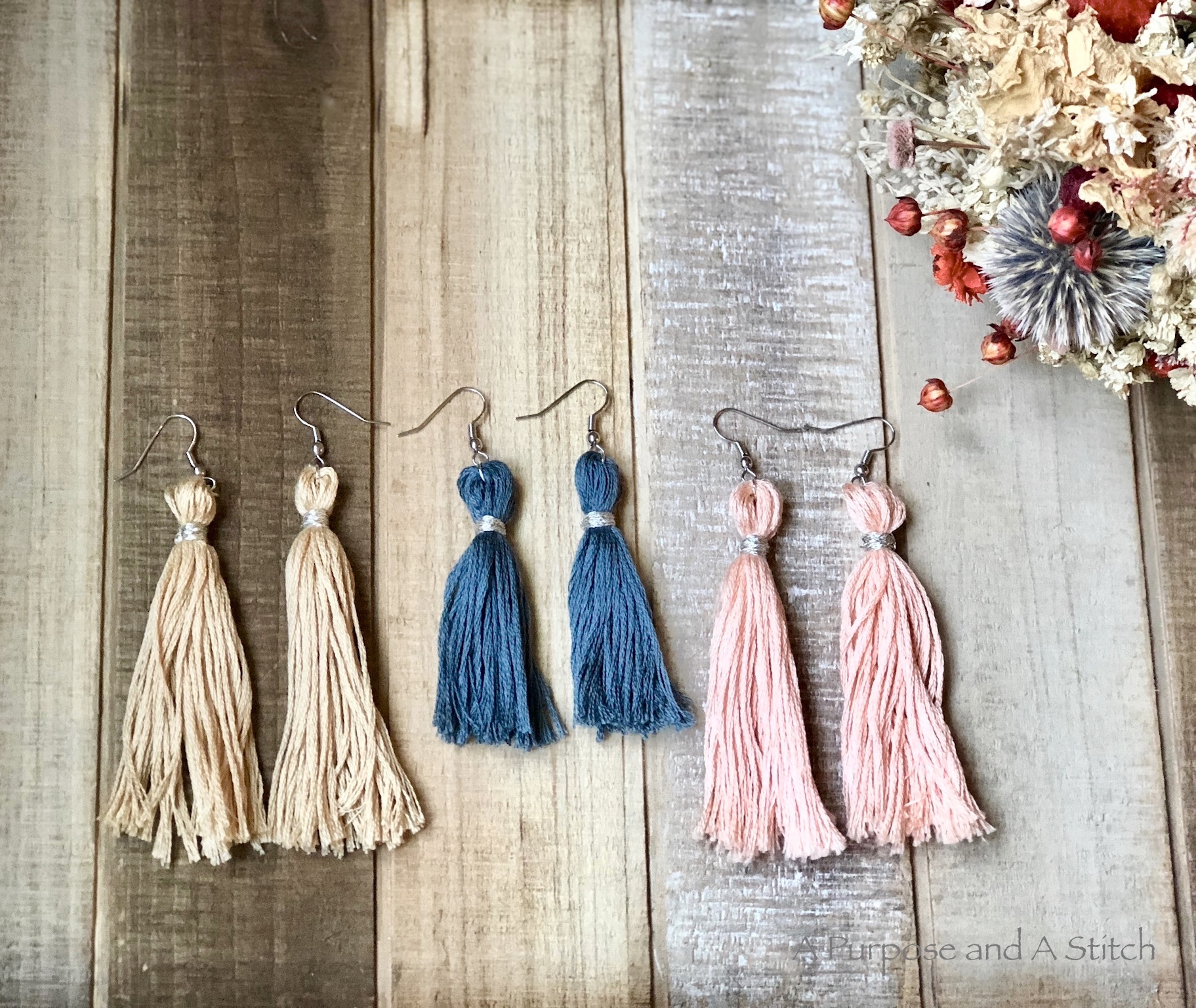 Tassel Earrings Tutorial