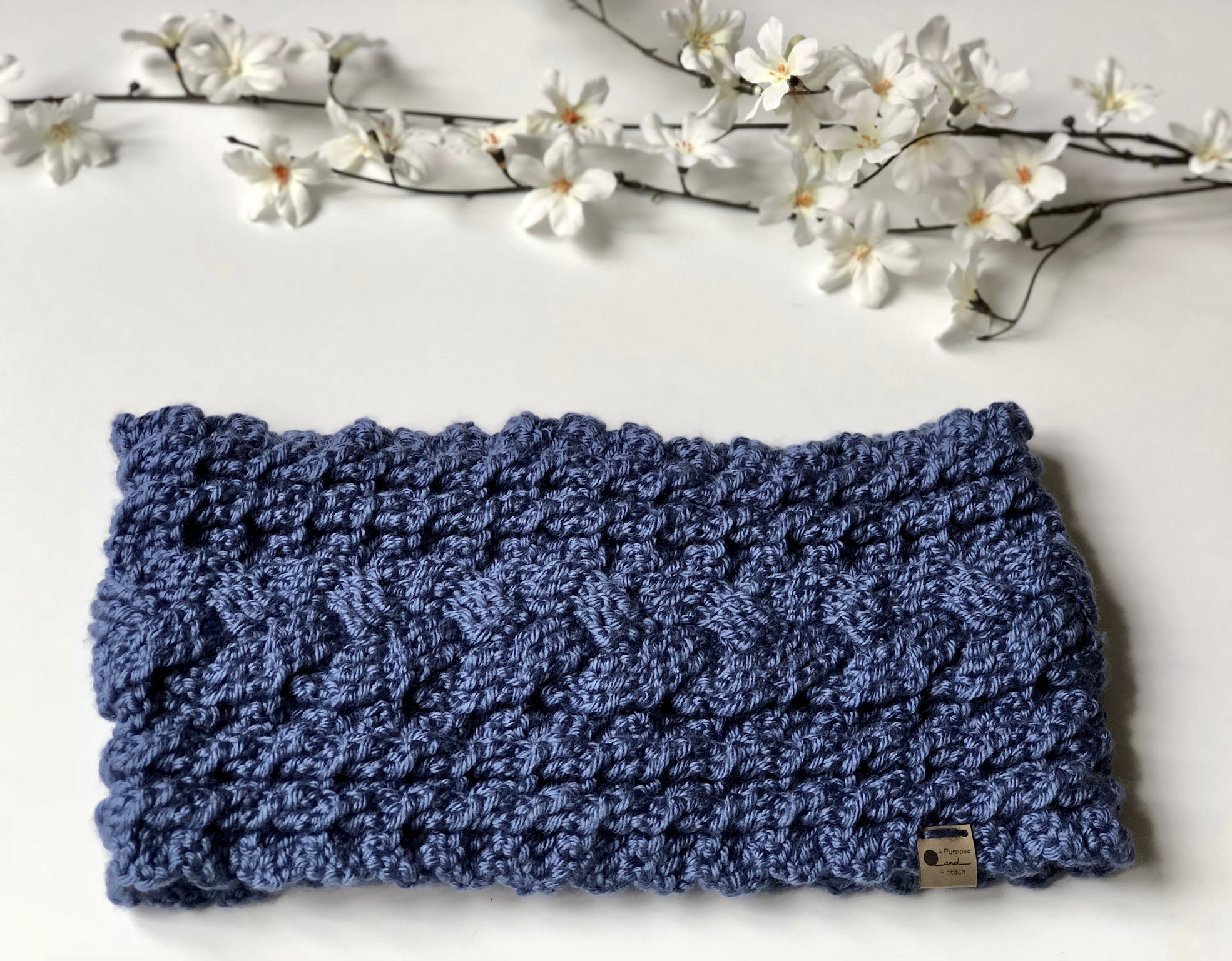 Cozy Cabled Cowl- Free Crochet Pattern