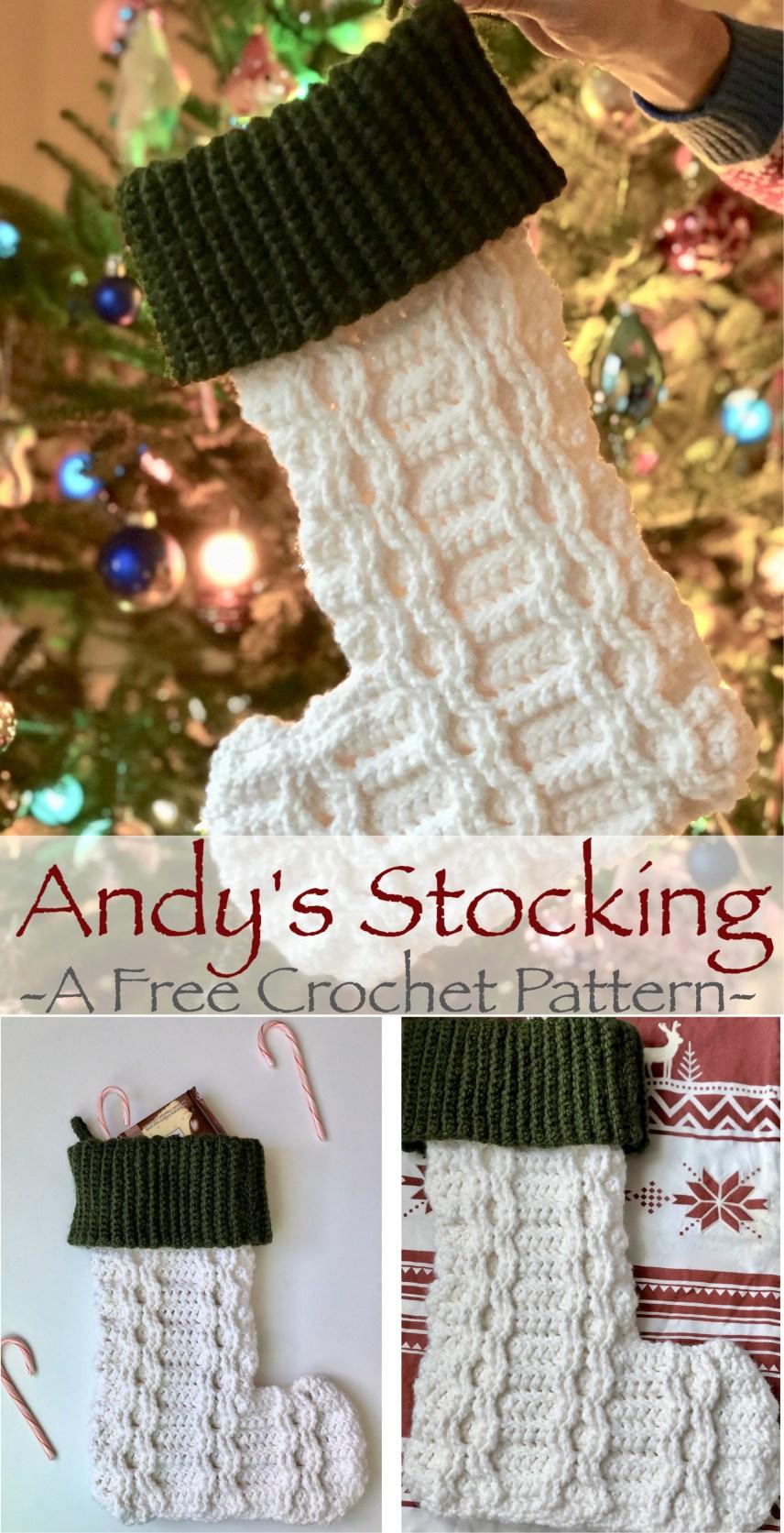 Andy's Stocking- Free Crochet Pattern .jpg