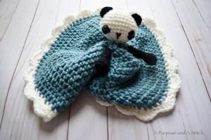 Petunia the Panda Lovey- Blog Post