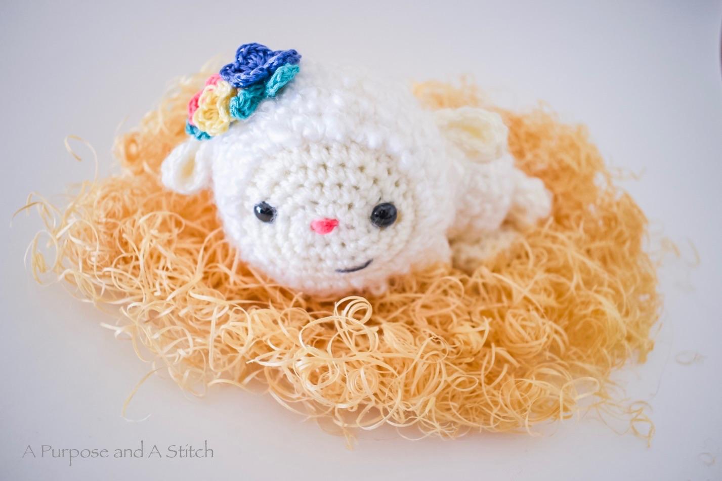 Linda The Lamb- Free Pattern