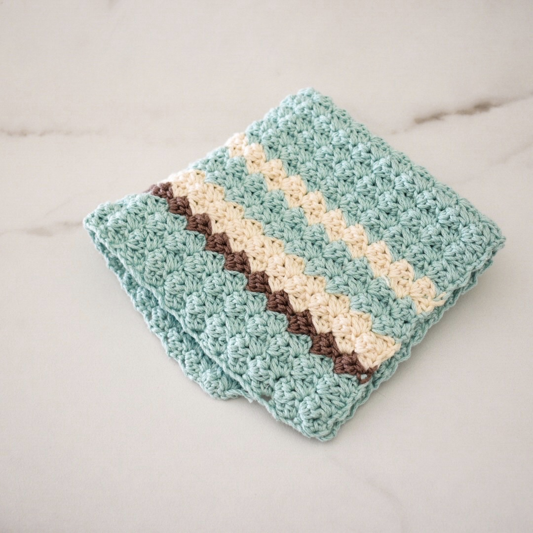 Sweet Mint Washcloth- Free Pattern