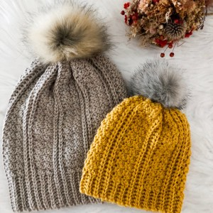 The Jennie Beanie- Fully Graded Free Crochet Pattern