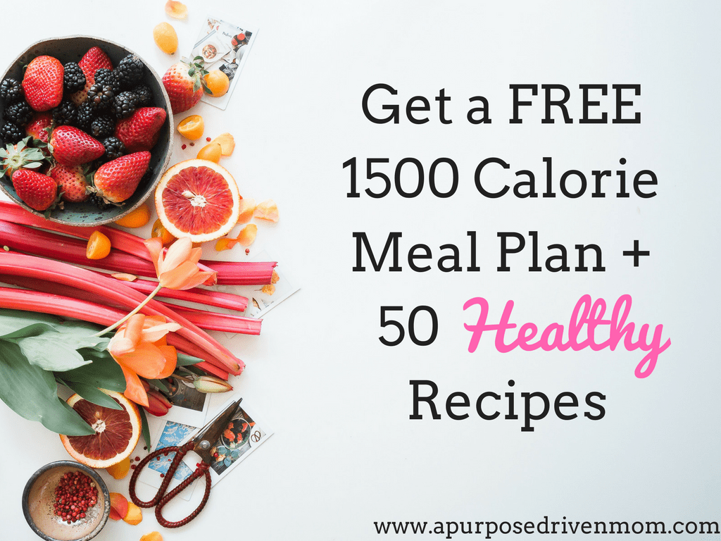 Meal Plan + Recipe Freebie