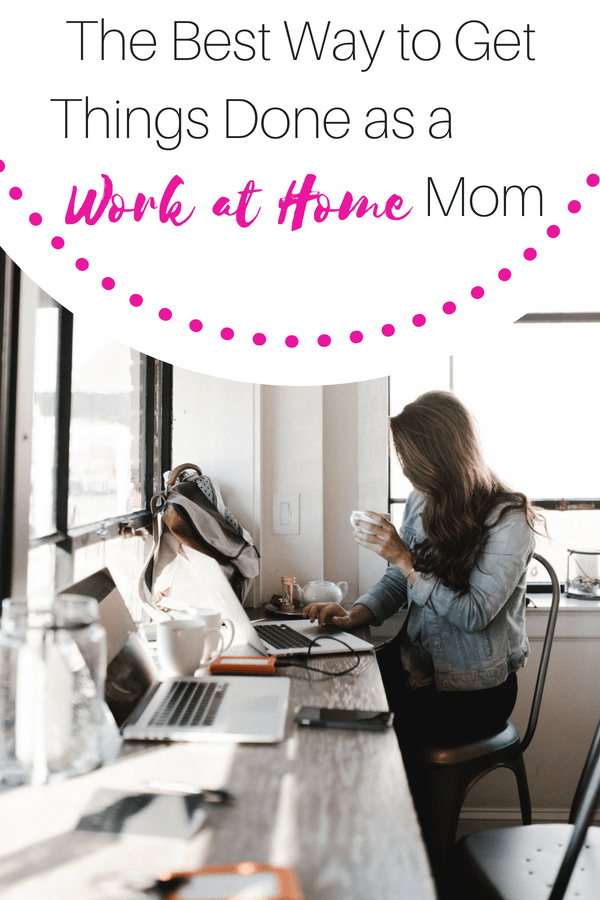 schedule for work at home mom