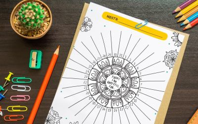 Free Self Care Printables for Moms