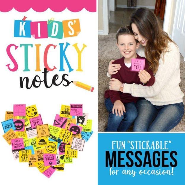 Kids Sticky Notes