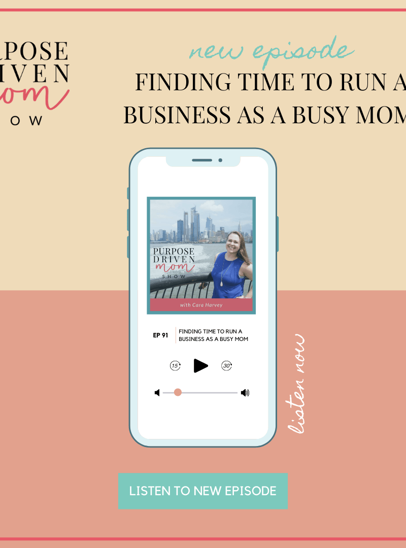 Finding Time to Run a Business as a Busy Mom Coaching With Tiffany