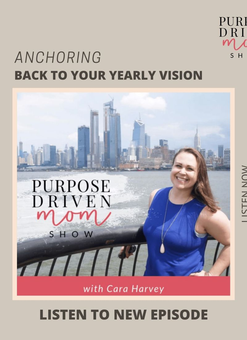 Anchoring Back to Your Yearly Vision