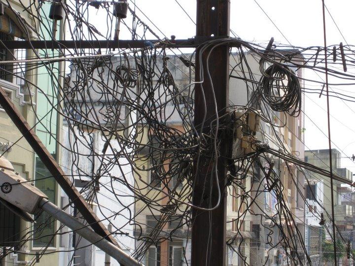 Power Line Infrastructure in Vijayvada