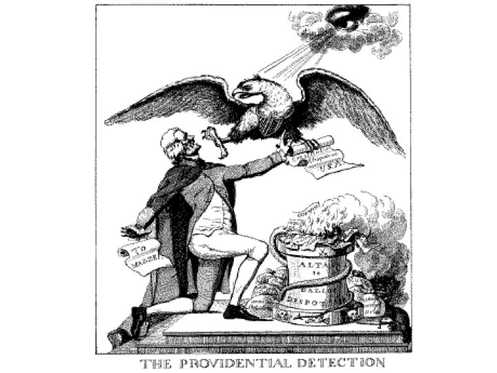 Past And Present American Political Cartoons Federalism
