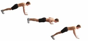 Plyometric Push Up