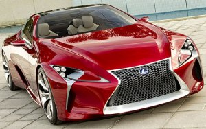 Lexus Sport Car Merah