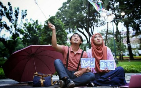 Konsep Foto Pre Wedding Outdoor